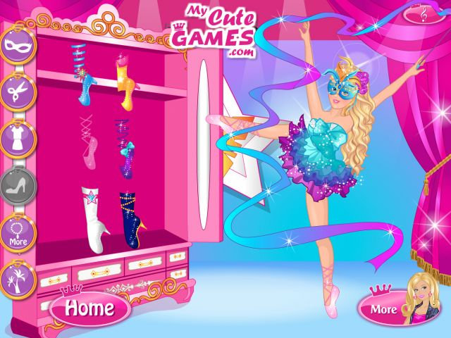 Super Barbie Gymnastics Contest